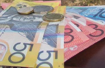 Australische Dollarscheine