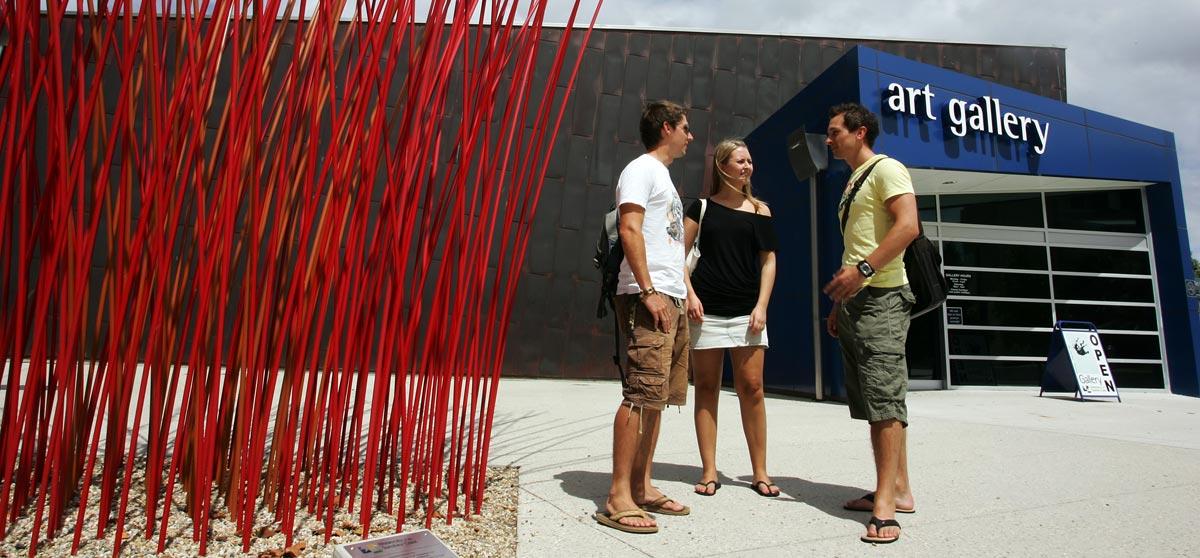 Studieren in Australien heißt immer auch Gespräch mit Studenten aus aller Welt
