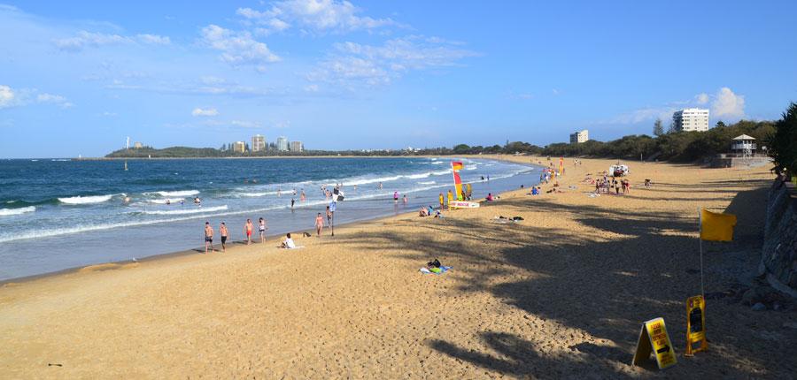 Strand in der Nähe der University of the Sunshine Coast